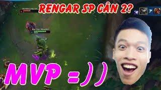 Rengar SP Cân 2 Lấy MVP | Phải Chăng Cách Chơi Mới :) | Trâu Best Udyr