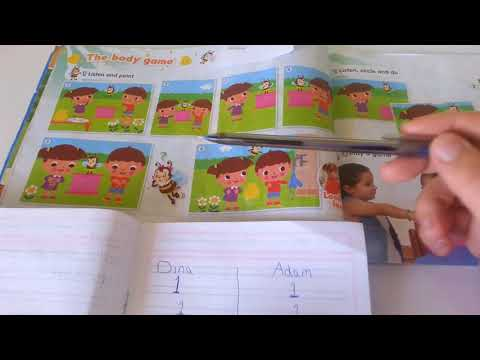 Kg1 * unit : 2  * my body page 18, 19 story the body game