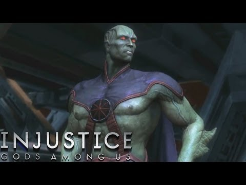Injustice: Gods Among Us - Martian Manhunter - Classic Battles On Very Hard (No Matches Lost)