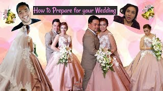 Vlog #19 How to Prepare for your WEDDING DAY | Getting Married 💋💍👰🤵