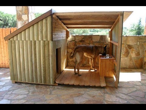 Diy Large Dog House Youtube