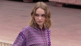 Lily Rose Melody Depp, Soko and more attends the Photo-Call of La Danseuse in Cannes