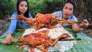 Cooking chicken roasted with chili sauce recipe - Cooking skill