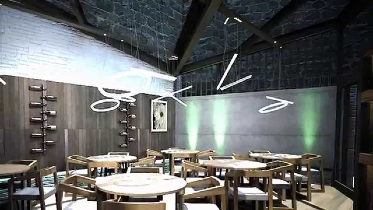 Diseño interior: Vinoteca La Herrería - YouTube