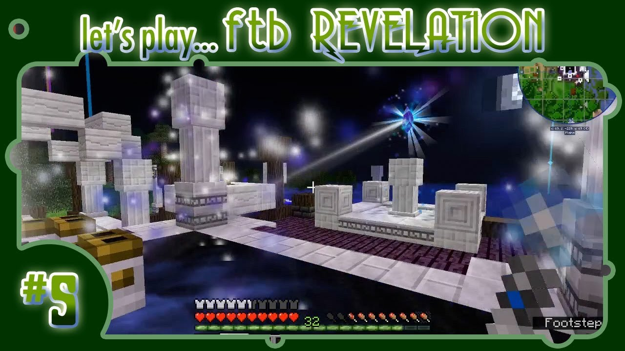 Let's Play    FTB Revelation! #5: Crafting the Perfect Celestial Collector  Crystal!