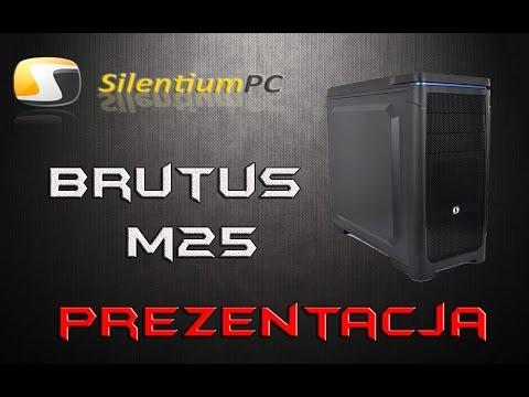 SilentiumPC Brutus M25 -  prezentacja obudowy