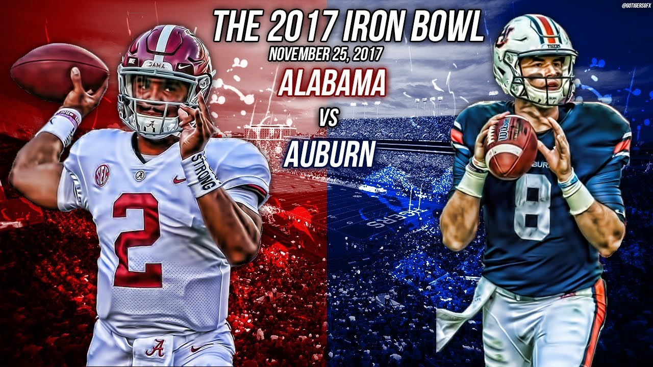 Auburn Vs Alabama 2017 Official Iron Bowl Hype Youtube