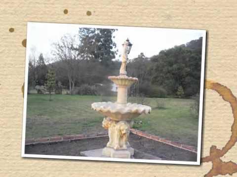 Fuentes y cascadas para jardines de campo youtube - Fuentes de cascada ...
