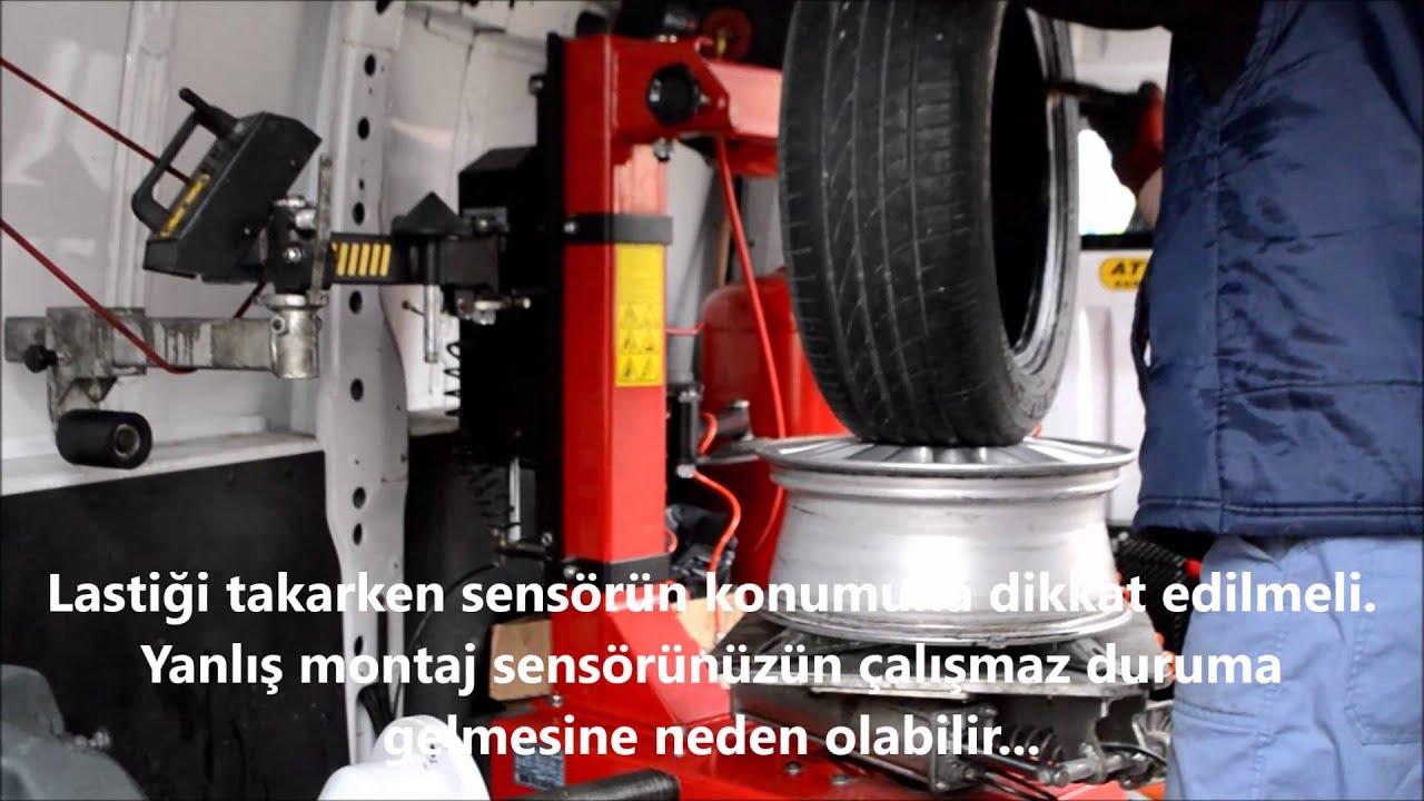lastik basınç sensörü arıza tespiti ve araca tanımlama (megane 2