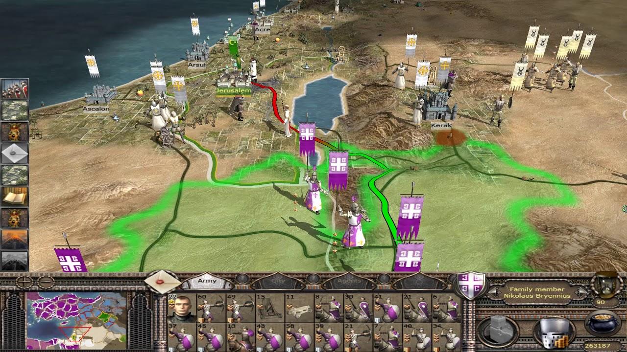 Medieval 2 total war crusades byzantine