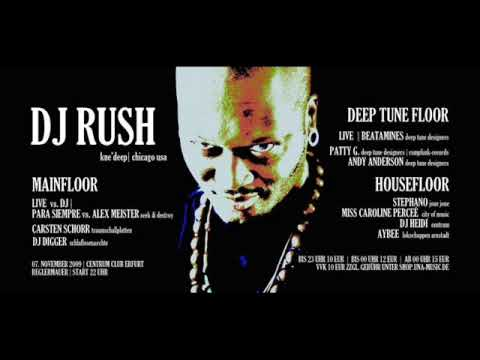 Dj Rush Party @ Centrum Erfurt 07.11.09