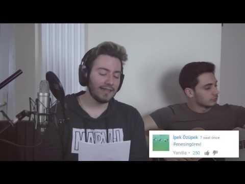 Enes batur/ Adam patladi