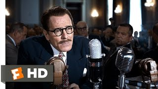 Trumbo (2015) - Hostility at HUAC Scene (2/10) | Movieclips