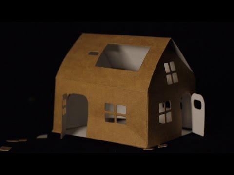 La Revolution De La Maison En Carton Tout Compte Fait Youtube