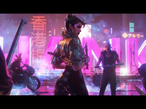 UNCIVILIZED | 1 Hour Music Mix | Epic Cyberpunk & Synthwave Music by Kevin Rix