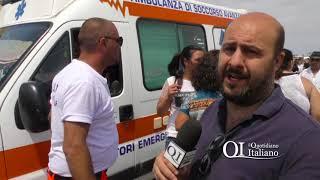 Malore alla festa di San Nicola, ambulanza fermata dai varchi: soccorritori scortati