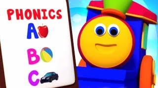 ABC Phonics Song | Preschool Learning Videos For Kids - Bob The Train Cartoons