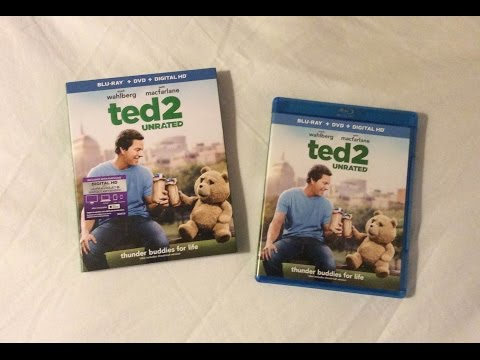 Ted 2: Unrated Edition (2015) Blu Ray Unboxing Review