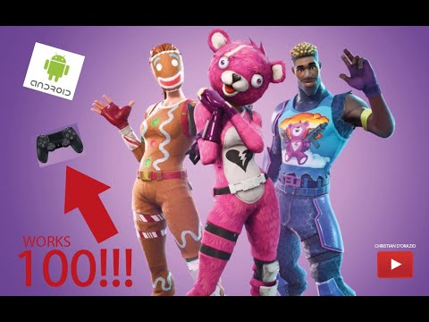 How to play Fortnite mobile ANDROID with PS4 Controller ...