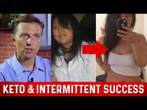 Keto & Intermittent Fasting Before & After (Dr. Berg & LeeAnne Masserang)