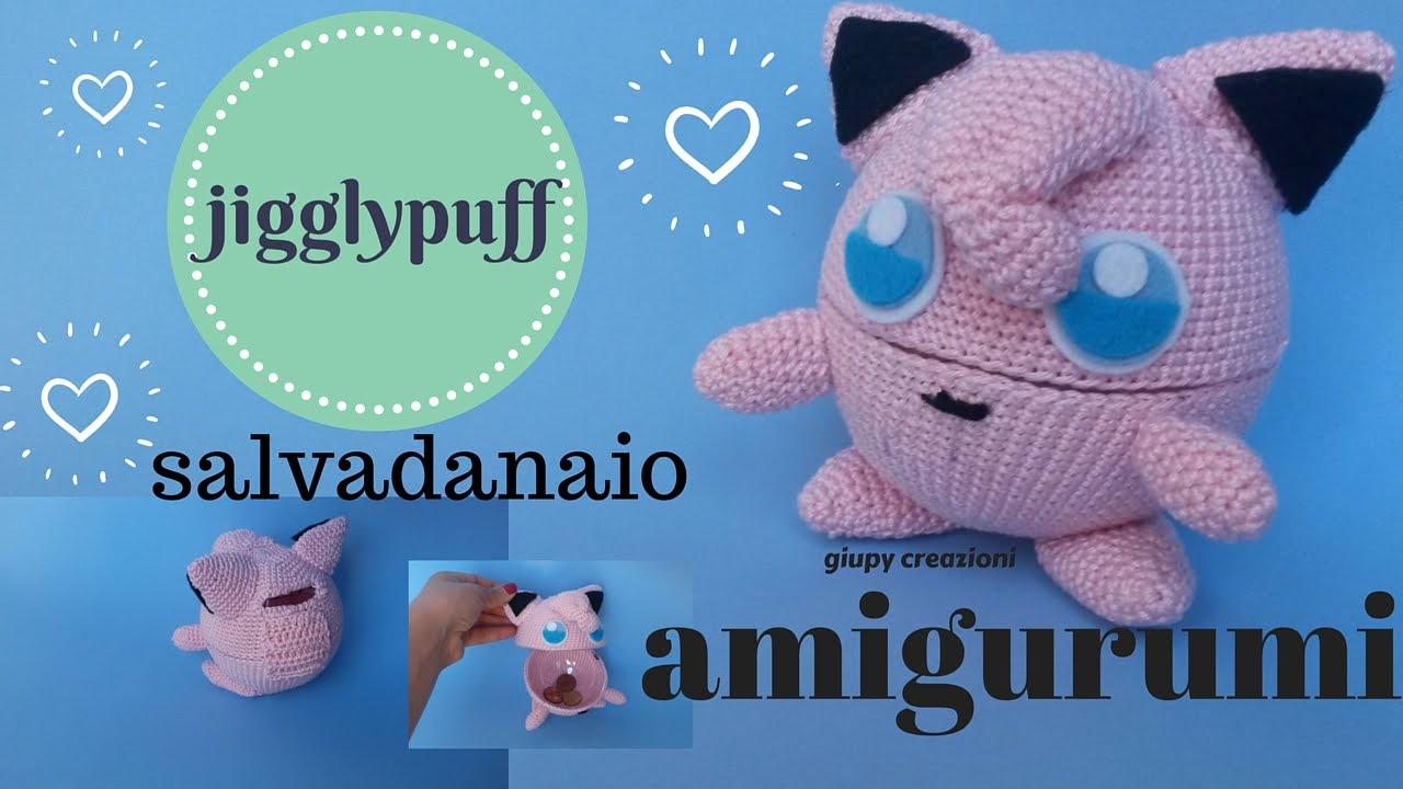 Ravelry: Jigglypuff Pokemon Amigurumi pattern by NeedleHook Creations | 720x1280