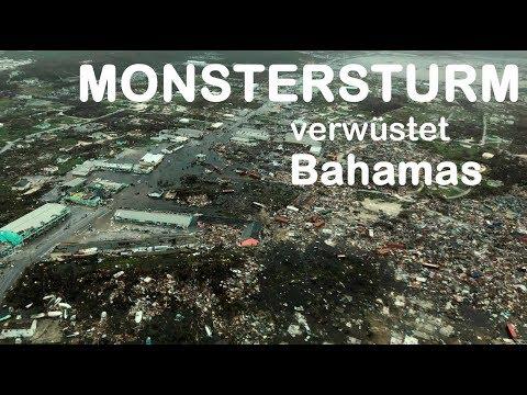 HURRIKAN DORIAN: Gigantische Schäden auf den Bahamas - US-Küste zittert