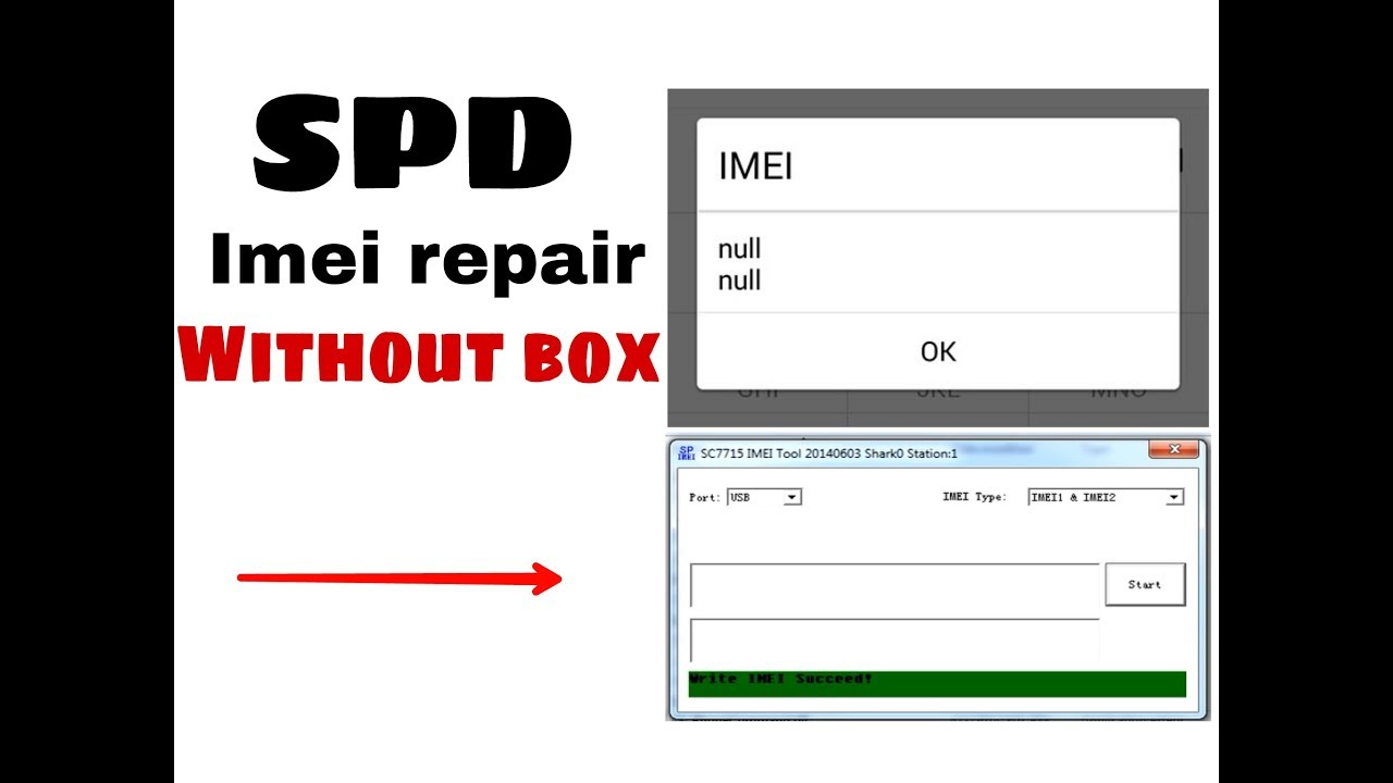 All Spreadtrum CPU IMEI repair without box - YouTube