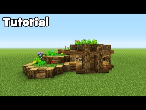 Minecraft Tutorial: How To Make A Starter Eco Survival House