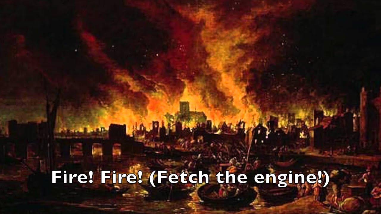 London's Burning Lyric Video - YouTube