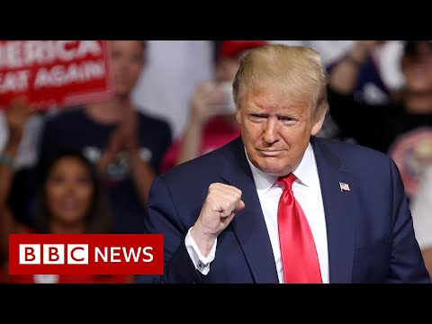 Donald Trump: Poor turnout for Tulsa election rally - BBC News