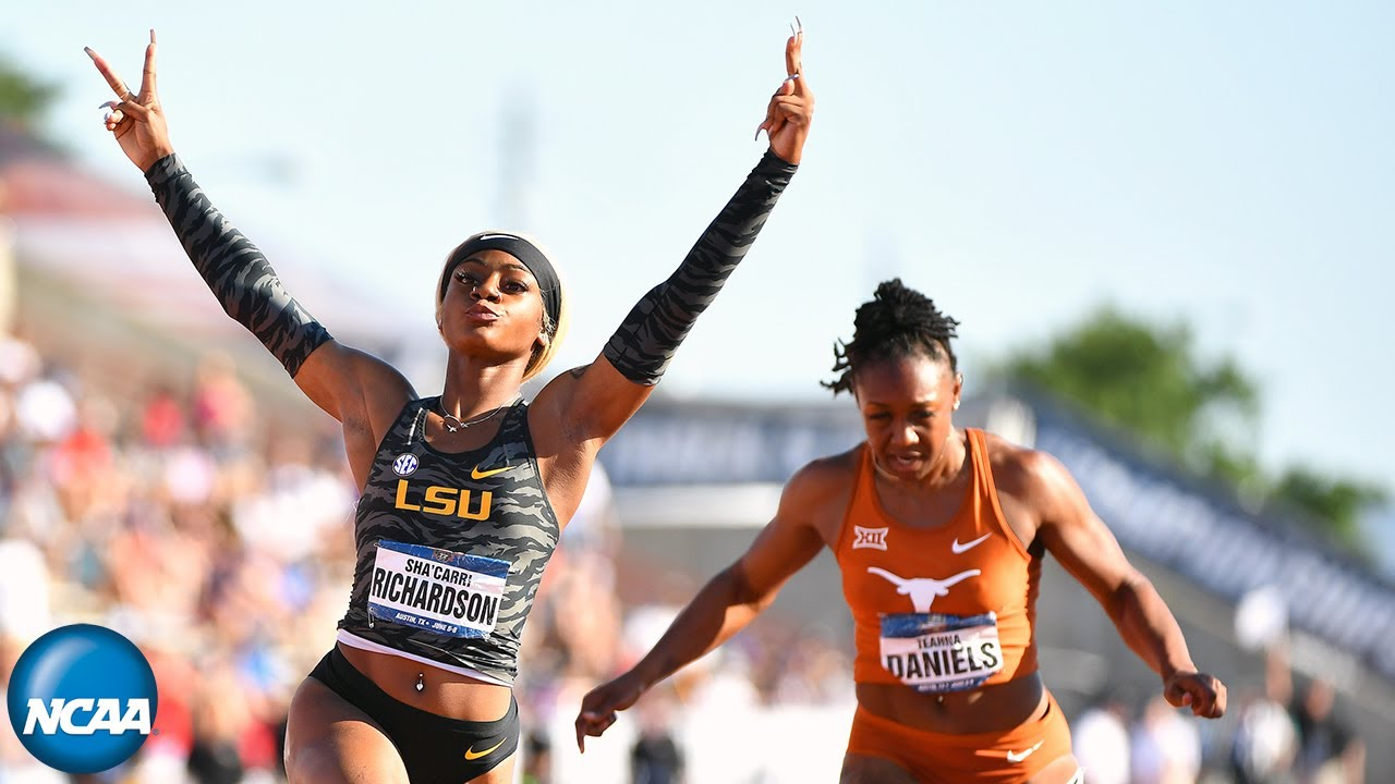 In signature look, Sha'Carri Richardson sprints to Olympic debut with ...