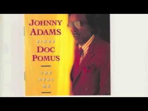 Johnny Adams sings