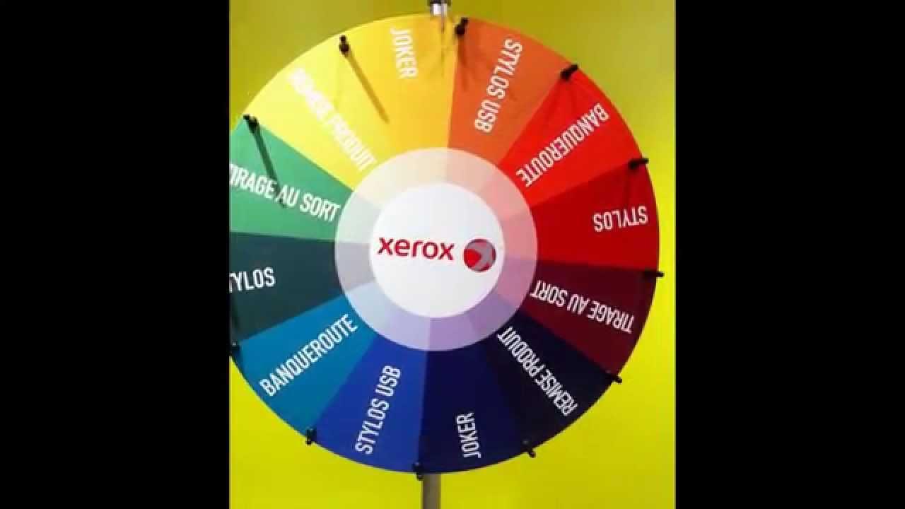 Bevorzugt Roue de loterie (roue de la fortune, roue de la chance) - YouTube UC89