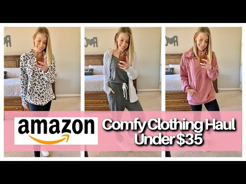 Affordable Winter Amazon Fashion Haul 2021 - Casual Comfy Outfits Under $35