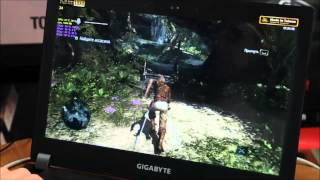 Игровой ноутбук Gigabyte P35k