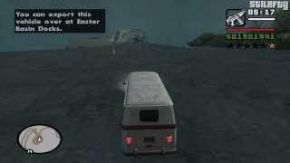 GTA San Andreas - Import/Export Vehicle #3 - Camper