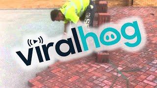 This Is How You Lay Bricks || ViralHog thumbnail