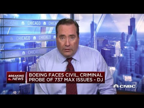 Boeing faces civil, criminal probe of 737 Max issues