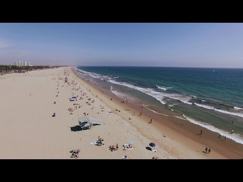 Santa Monica Beach - DJI Phantom 3