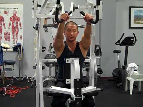 Hammer Strength Pulldowns