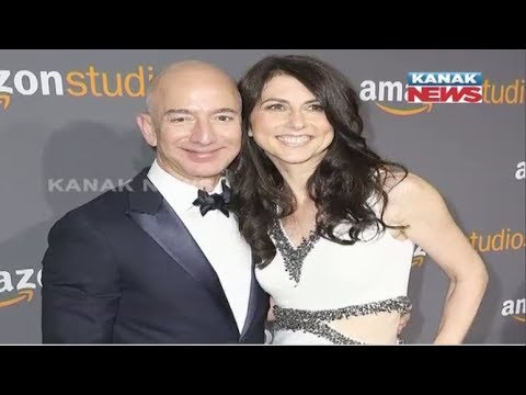 Amazon CEO Jeff Bezos & Wife MacKenzie To Divorce