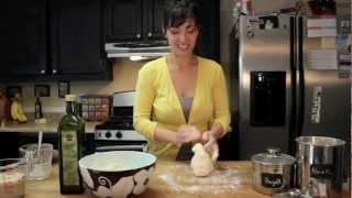 How to make pizza dough; homemade