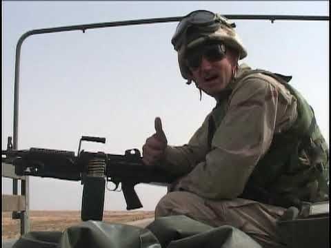 Convoy Crossing the Kuwaiti/Iraqi Border (Mar. 20, 2003) | US Marines Archive