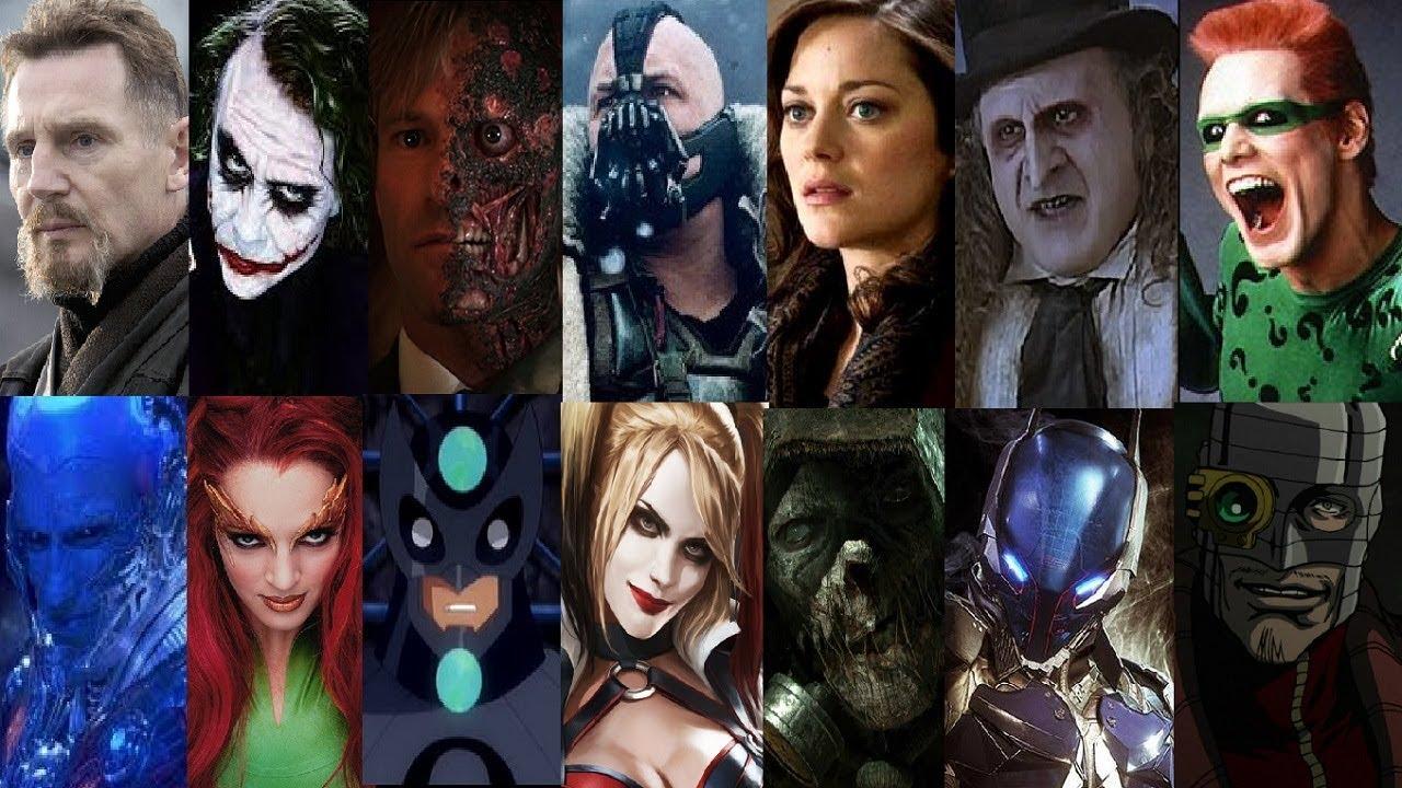 Resultado de imagem para The Batman villains