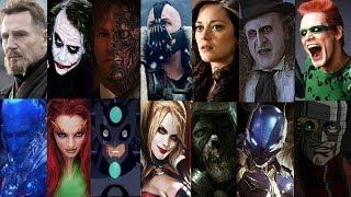 Defeats Of My Favorite Batman Villains
