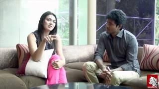 Hanshika - sivakarthikeyan Duet Interview - Ananda Vikatan