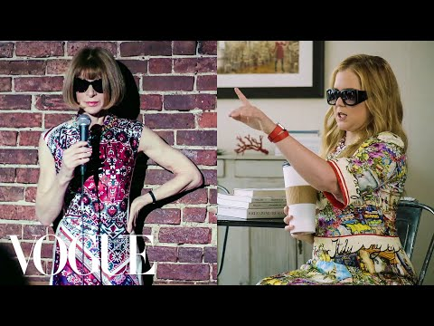 Amy Schumer and Anna Wintour Swap Lives | Vogue