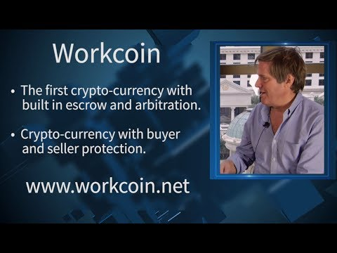 WorkCoin | Crypto-currency With Built in Escrow & Arbitration | Founder Fred Krueger | CoinAgenda