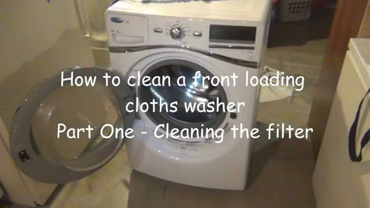 Cloths Washer - does not drain
