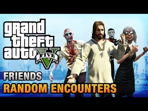 GTA 5 - All Special Characters / Friends [Humans of Los Sant